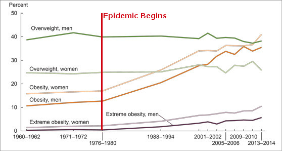 CDC Obesity Trend Chart