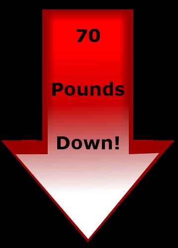 70 Pounds Down