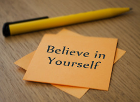 Believe in Yourself Note